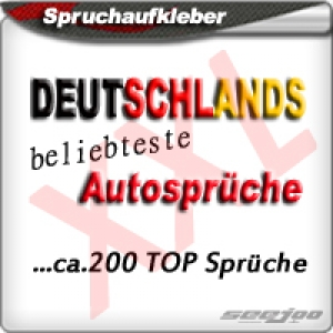 Seejoo De Style Your Car Aufkleber Sticker Autoaufkleber